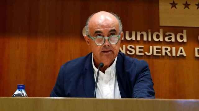 Antonio Zapatero, viceconsejero de Salud Pública y Plan Covid-19 de la Comunidad de Madrid. Efe