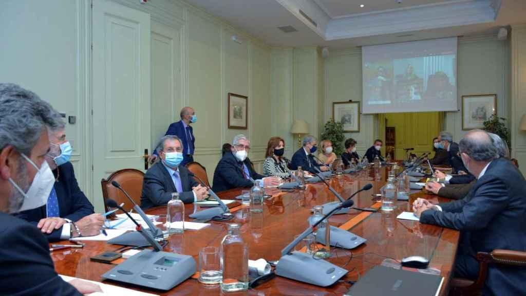 Reunión del Consejo General del Poder Judicial./