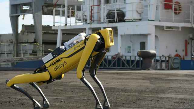 Uno de los robots que se pueden controlar con la plataforma de la española Alisys.