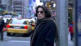 Mi amiga Fran paseando por Nueva York.