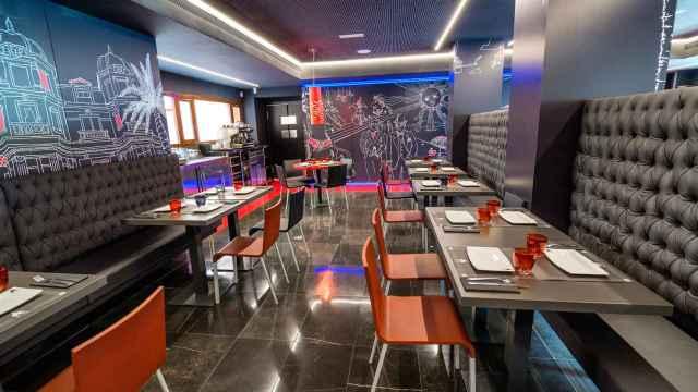 Interior del restaurante Niza, en Valladolid.