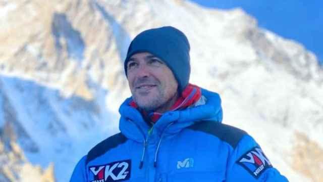 Sergi Mingote, durante su estancia en el K2. Foto: Instagram (sergimingote)
