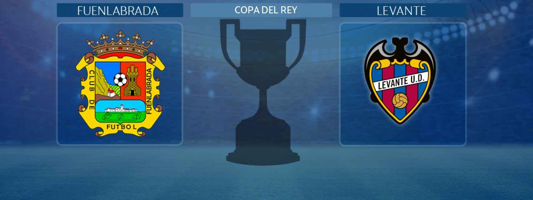 Fuenlabrada - Levante, partido de la Copa del Rey