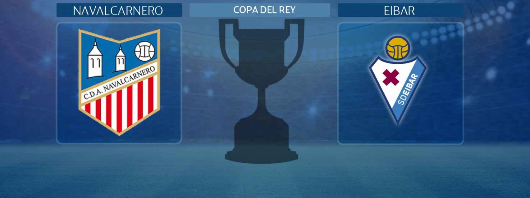 Navalcarnero - Eibar, partido de la Copa del Rey