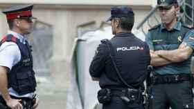 Varios agentes de la Policía Nacional en una foto de archivo.