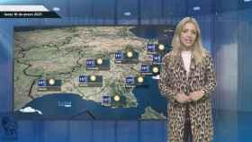 El tiempo en España para el lunes 18 de enero.
