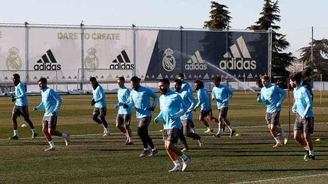 Sergio Ramos y Varane, bajas en el entrenamiento del Real Madrid
