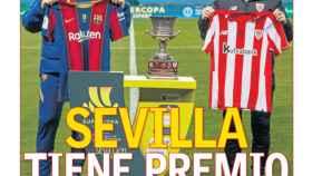 La portada del diario AS (17/01/2021)