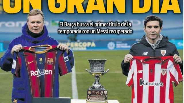 La portada del diario SPORT