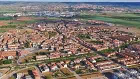 Imagen aérea de Marchamalo