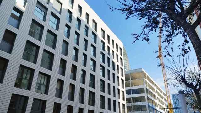 Edificio que ha comprado Patrizia en el distrito 22@ de Barcelona.
