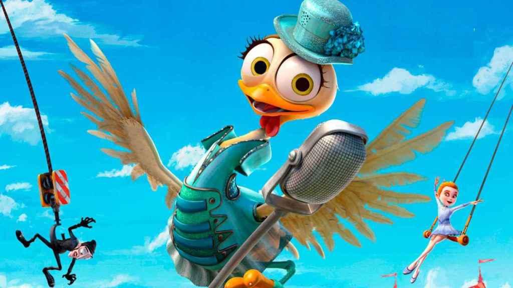 'La gallina turuleca' es la única película de animación nominada este año.
