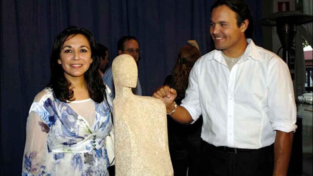 Isabel Gemio junto a su exmarido Nilo Manrique en imagen de archivo.
