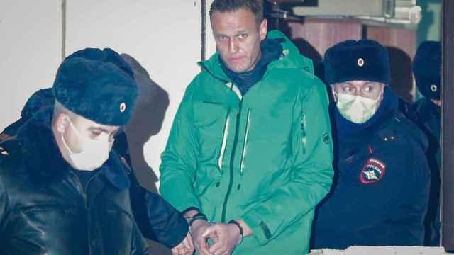 Navalny, encarcelado hasta el próximo 15 de febrero