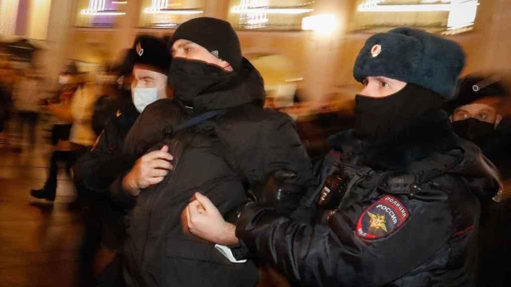 Alexei Navalny, en su vuelta a Moscú.