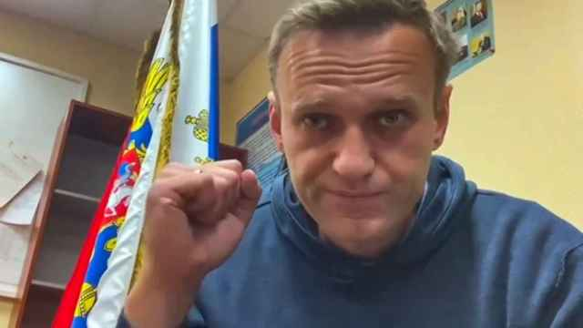 Navalny, opositor ruso.