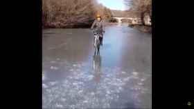 Paseo hielo rio tera
