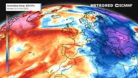 Anomalías cálidas para la semana del 18 de enero. METEORED.