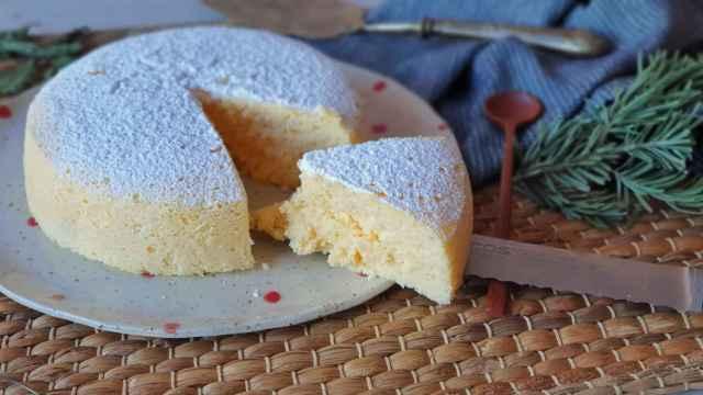 Tarta de queso japonesa, un pastel suave y delicioso