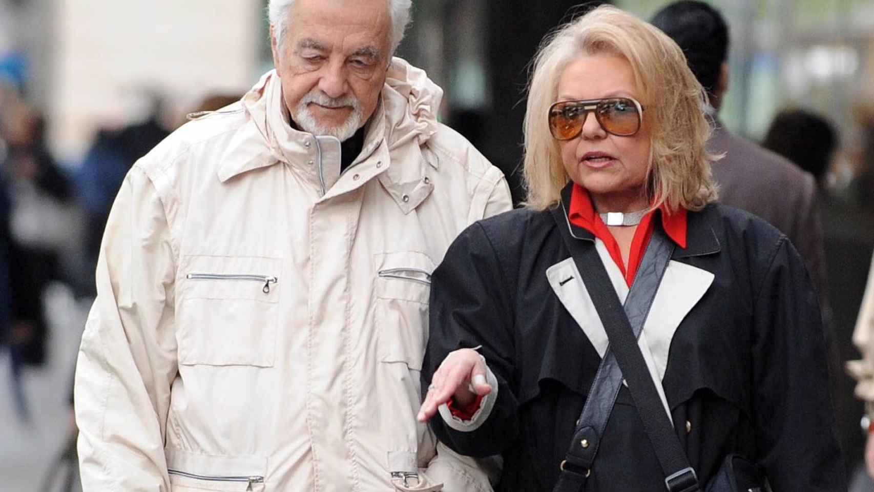 Mayra Gómez Kemp junto a su marido Alberto Berco en una imagen de archivo.