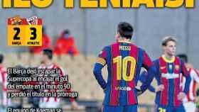 Portada Sport (18/01/21)