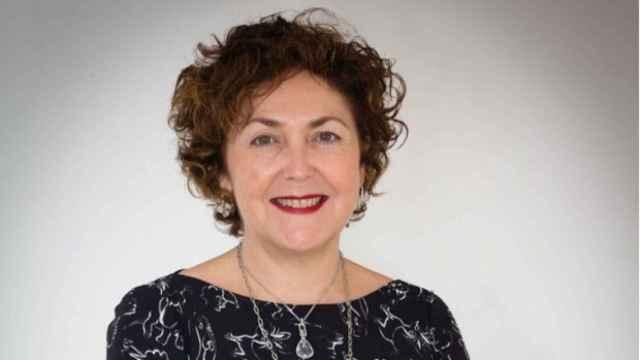 Maribel Moya, presidenta del Colegio Oficial de Médicos de Alicante.