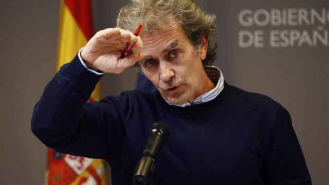 El director del Centro de Alertas y Emergencias (CCAES), Fernando Simón, este lunes.