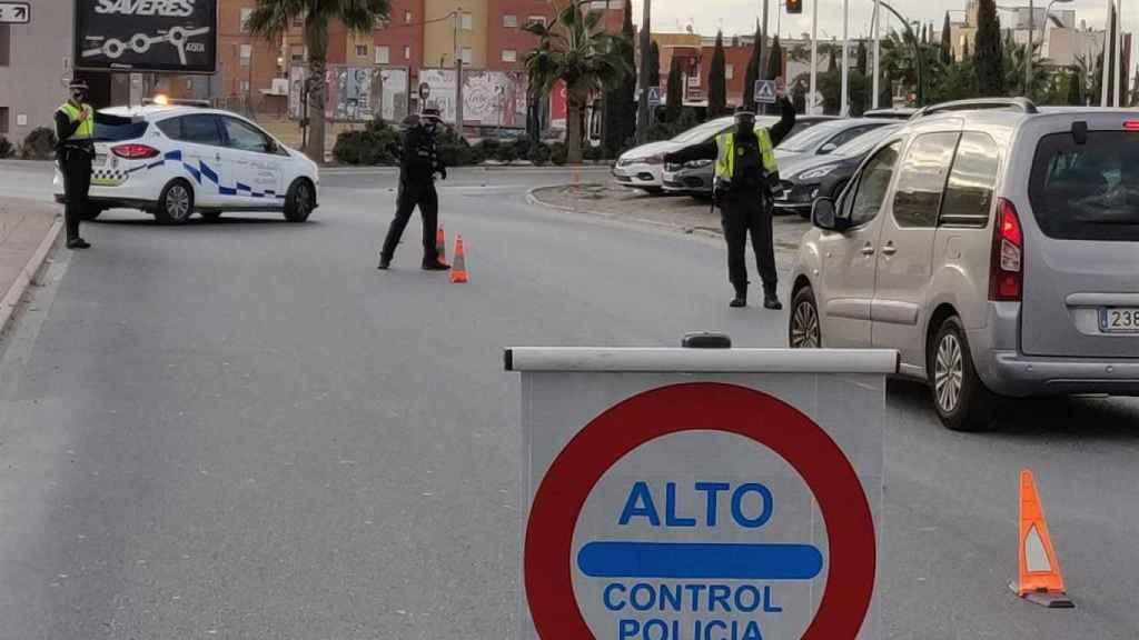 Control de salida en Almería