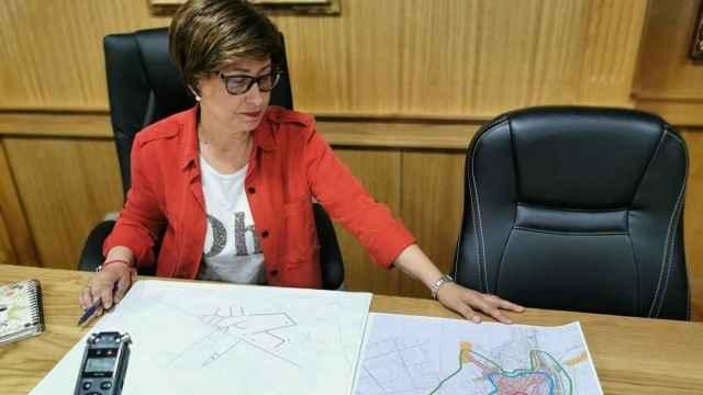 La alcaldesa del municipio orensano de Xinzo de Limia, la socialista Elvira Lama.