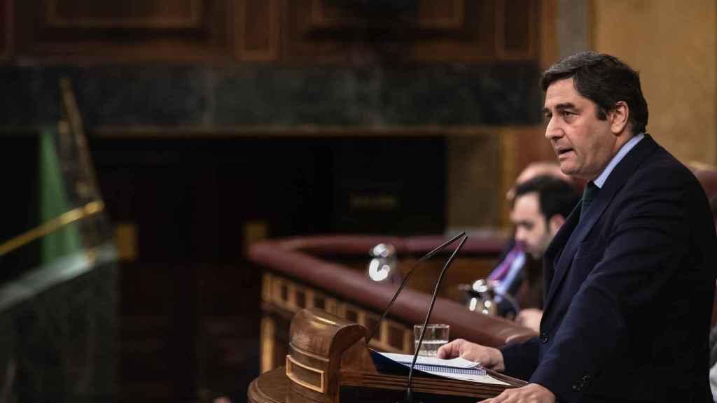 José Ignacio Echániz, diputado del PP por Guadalajara, interviene en el Congreso.