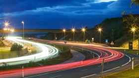 Imagen de recurso de una autopista.