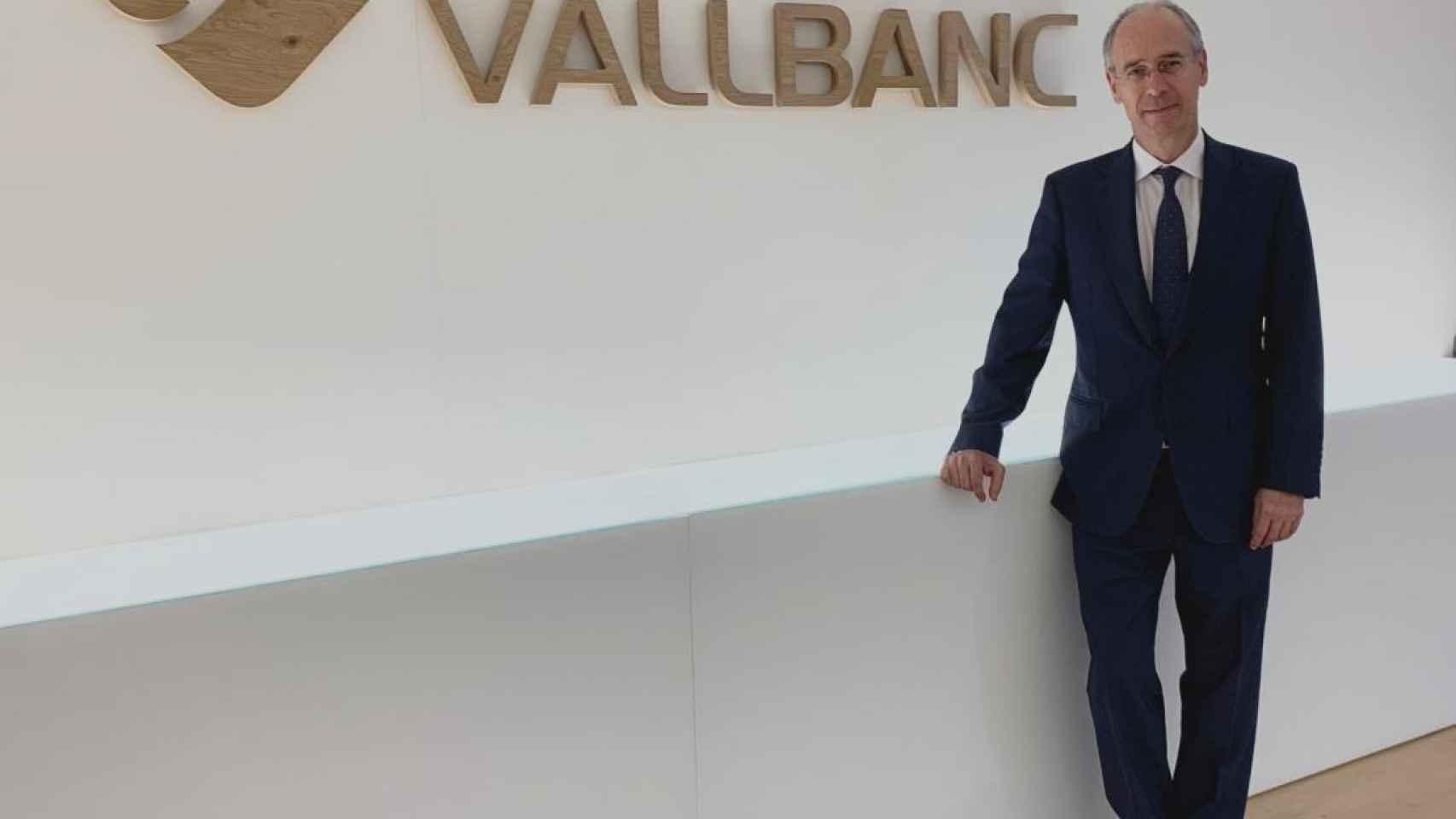 José Luis Dorado, CEO de Vall Banc.