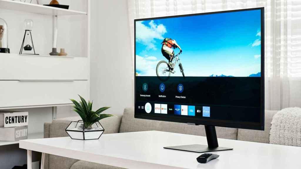 El Samsung Smart Monitor puede reproducir Netflix