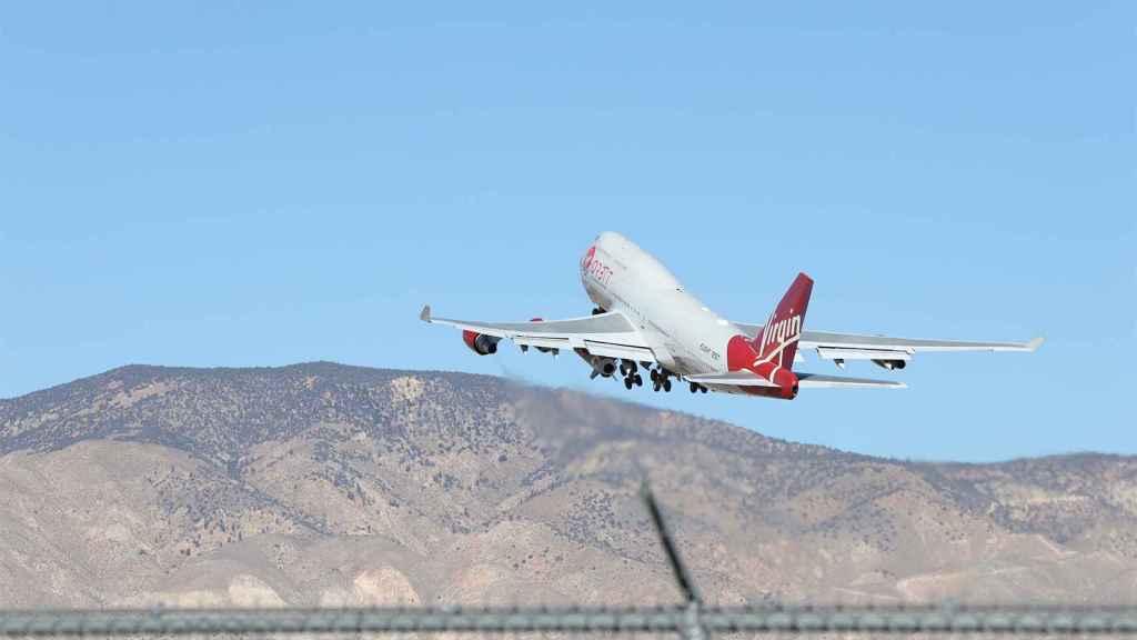 Avión de Virgin Orbit.