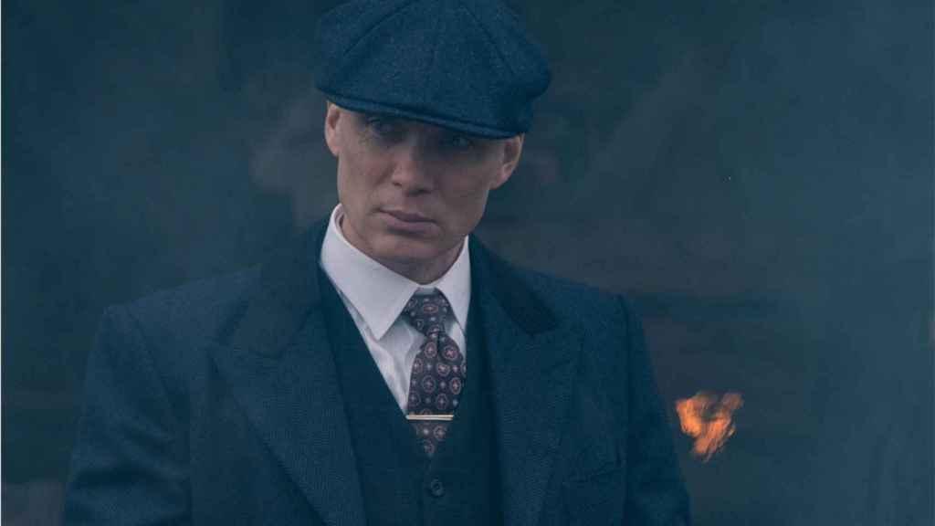 Cillian Murphy es Tommy Shelby en 'Peaky Blinders'.