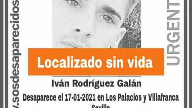 Aparece el cadáver de Iván, desaparecido en Los Palacios: la Guardia Civil investiga los motivos de la muerte