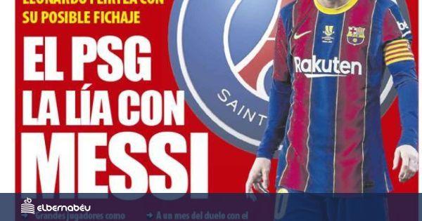 La portada del diario Mundo Deportivo (19/01/2021)