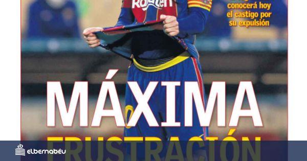 La portada del diario AS (19/01/2021)
