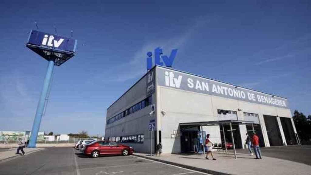 Una estación de la ITV en Valencia.