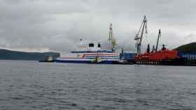 Barco ruso con central nuclear
