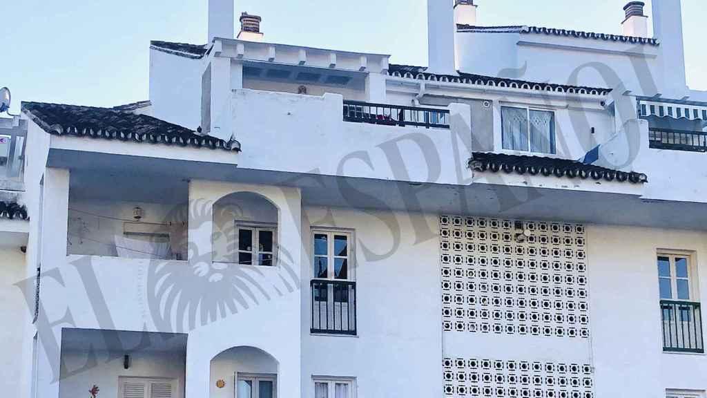 Este es el bloque de pisos donde vive en la actualidad Julián Muñoz.