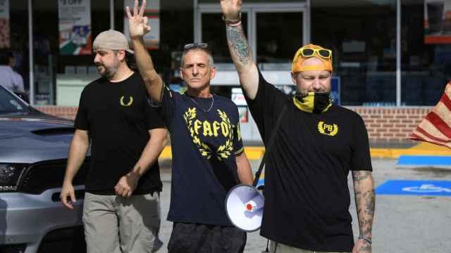 Imagen de los 'Proud Boys', uno de los grupos ultraderechistas que más preocupa al FBI.