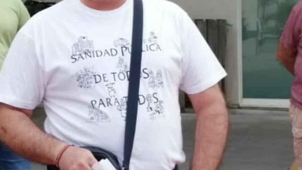 El secretario de acción sindical de UGT, Juan Crevillen.