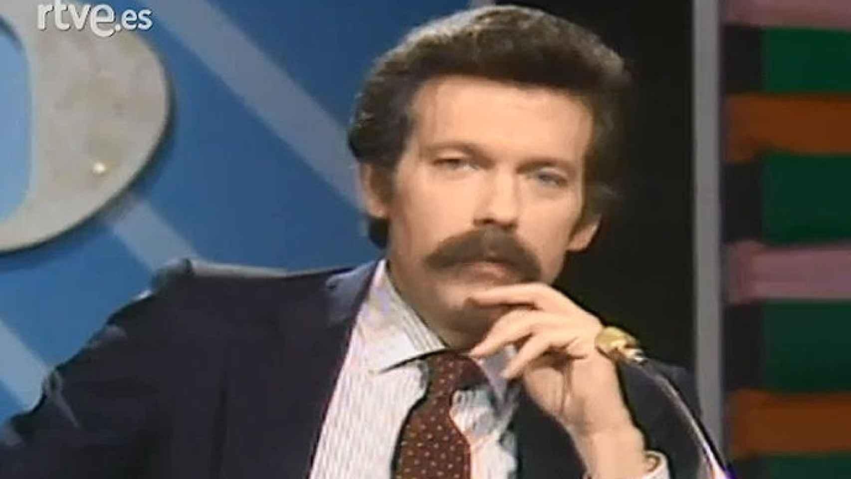 José María Íñigo était l'un des présentateurs historiques de TVE.