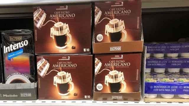 El café americano que comercializa Mercadona.