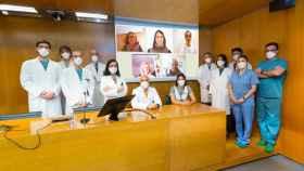 El equipo investigador. © Manuel Castells/Clínica Universidad de Navarra