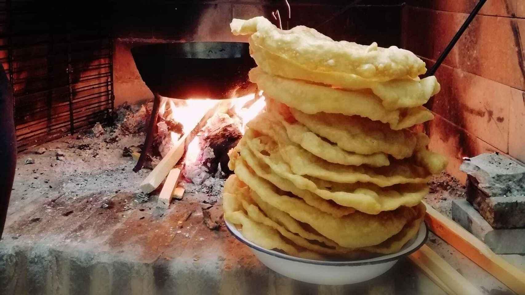 Las tortillas de San Sebastián. Foto: Natalia Campos