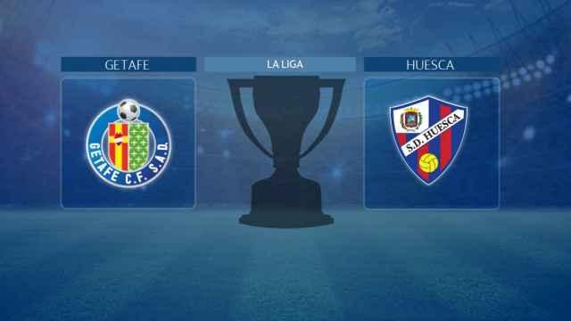 Getafe - Huesca, partido de La Liga