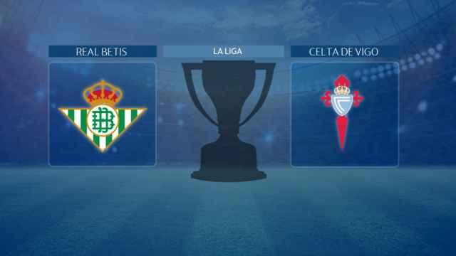 Real Betis - Celta de Vigo, partido de La Liga