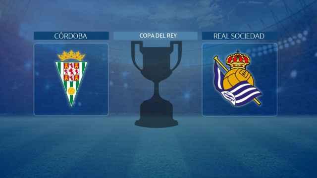 Córdoba - Real Sociedad, partido de la Copa del Rey